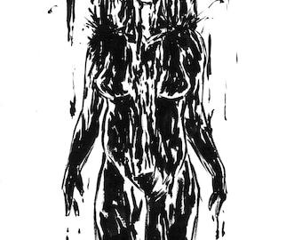 Inktober 2016 No 9 - 5.5 x 7.5 Ink Drawing