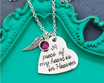 Miscarriage Gift Baby Loss Gift Miscarriage Necklace • Angel Baby Stillborn Memorial • Heaven Necklace Infant Loss Remembrance