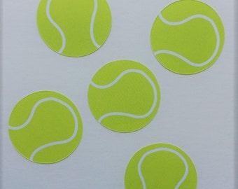 Tennis Die Cuts Tennis Gift Bag Tags