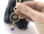 Boho Dreamcatcher Keychain Clip - Womens Gifts Under 15 - Best Christmas Gift Ideas Her - Stocking Stuffer Filler - Teen Girl Gift