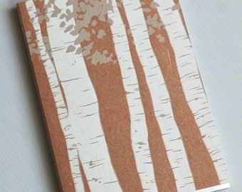 Aspen Trees Notebook Journal