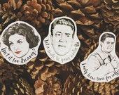 Twin Peaks Three Vinyl Sticker Set