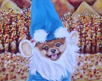ORIGINAL PAINTING - Gnome Pom