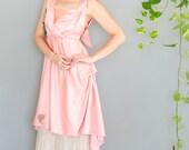Antique Edwardian 1910's Silk & Lace Dress