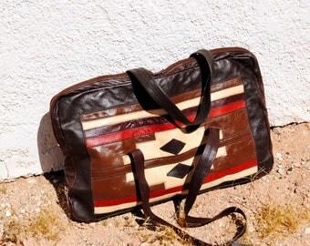 Vintage 1970's Southwestern Bag