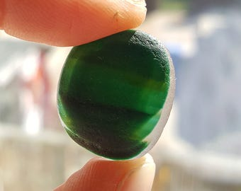 Green Multi - Seaham Sea Glass - End of Day English Beach Glass (6704)