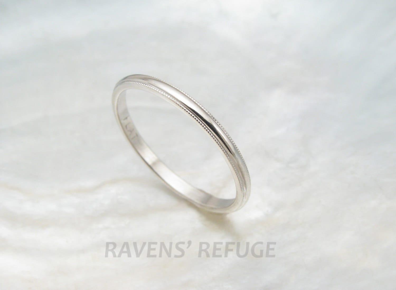 dainty wedding ring women 39 s platinum wedding band with. Black Bedroom Furniture Sets. Home Design Ideas