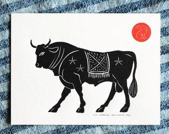 Send a Hope Print! - Sacred Bull