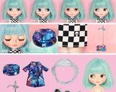 Neo Blythe UFO Go Go,Blythe UFO Go Go,fashion doll,Blythe doll,Blythe star coat