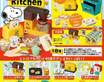 Snoopy Retro Kitchen Re-ment/Re-ment Miniatures/Snoopy Re-ment/Snoopy Kitchen Re-ment/Snoopy Kitchen Rement