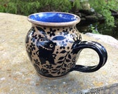 DISCOUNT Monsters in the Garden Mug - stoneware ceramic handmade coffee cup
