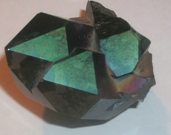 Titanium Aura Quartz Crystal Point