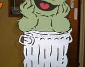 Custom Order for NICOLE W Sesame Street Standup - Standee - Photo Prop