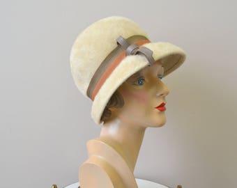 1960s Monsieur Pierre Fur Felt Hat