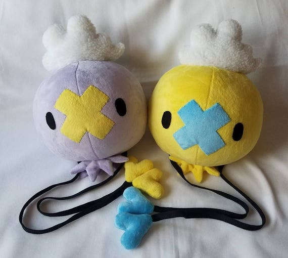 Pokemon life size drifloon plush for Life size shark plush