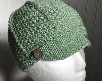 Child's Newsboy Cap (Knitting Pattern) - PDF Download