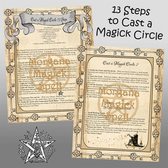 Cast a Magick Circle  13 Steps