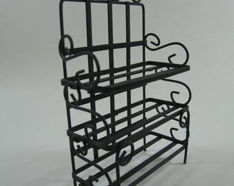 Miniature Baker's Rack // 1:12