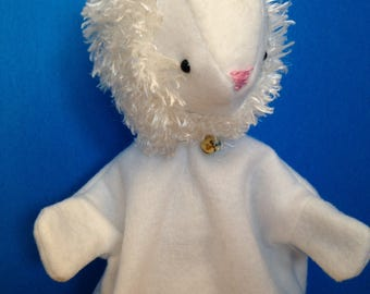Hand Puppet for Children - Easter Lamb - Sheep
