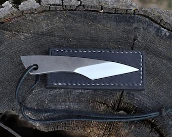 Pocket Knife - Midsize Japanese Kiridashi - Salvaged File Steel