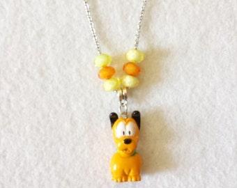 Pluto Figurine Necklace