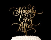 Wedding Cake Topper - Happily Ever After - Fairytale Collection