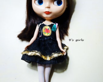 Blythe Black Party dress