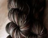 "Sock yarn - 80/20 SW Merino/Nylon - Autocorrect - ""Toasting and Turning All Night"""