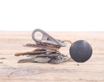 Vintage Keys / Antique Key Set / Rusted Keys / Old Keys / Antique Keys / Metal Display Prop Collectible / Home Office Decor