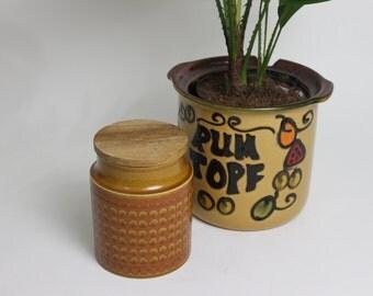 Hornsea Saffron Canister Jar