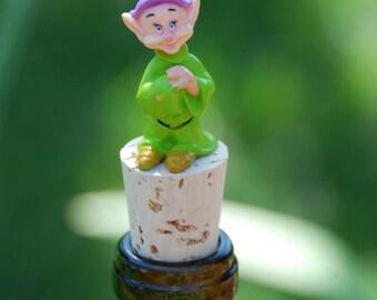 Dopey Wine Bottle Stopper Snow White and the Seven Dwarfs Disney