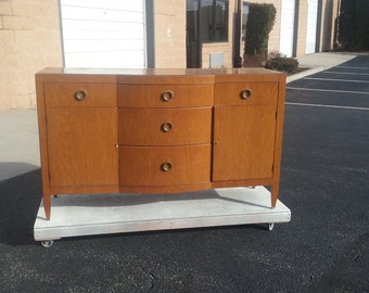 Retro Mid Century Modern Vintage Dresser, Buffet, Server PICK UP ONLY Traditional Storage, tv console, media center,sideboard, Mod