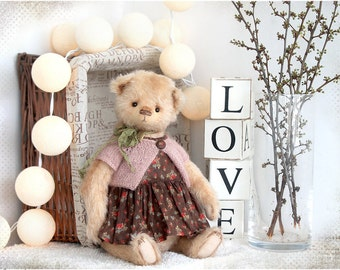 Artist Classic Teddy Bear Jane 37cm OOAK
