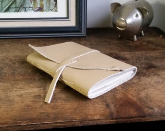 Slim Leather Journal, Light Brown 4.5 x 6 Journal by The Orange Windmill on Etsy 1775
