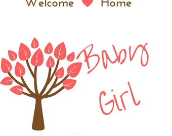 Baby Girl Nursery Decor Printables Home Decor Instant Downloads Baby Nursery Art