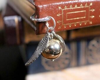 Golden Snitch Mini Metal Bookmark