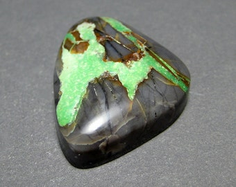 Northern Lights Mine Natural Turquoise Cabochon from Nevada, 14.50 ct.