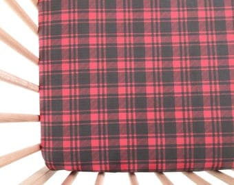 crib sheet buffalo plaid fitted crib sheet baby bedding crib bedding crib