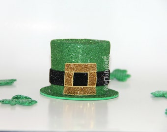 Leprechaun Hat // Mini Leprechaun Hat // St. Patricks Day Hat // Ready to Ship // by Born TuTu Rock