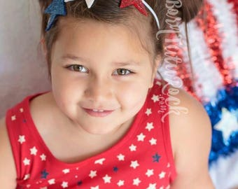 4th of July Headband // Stars headband // Starlette // by Born Tutu Rock