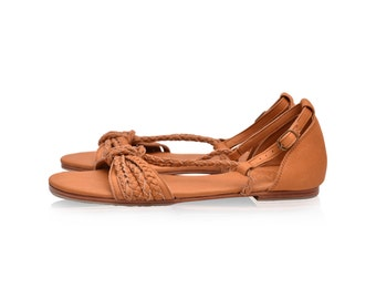 BLOOMING DAY. Strappy sandals / leather sandals / leather shoes / summer shoes / barefoot sandals. Sizes 35-43 Available in different colors