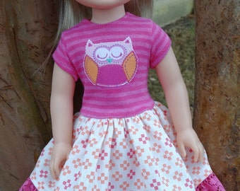 """14.5"""" Doll Clothes Fits American Girl Wellie Wishers and Heart4Heart Dolls"""