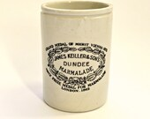 Antique James Keiller & Son Ltd Large Dundee Marmalade Stoneware Jar