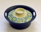 Mid-Century Norge Figgjo Flint Flameware lidded Casserole Pot