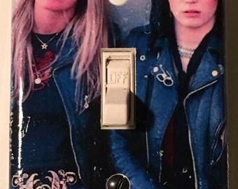 Lita Ford & Joan Jett Light Switch Plate