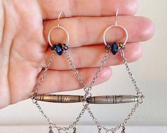 Gypsy Tribal Boho Earrings