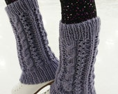 Shine on the Ice legwarmers (knitting pattern)