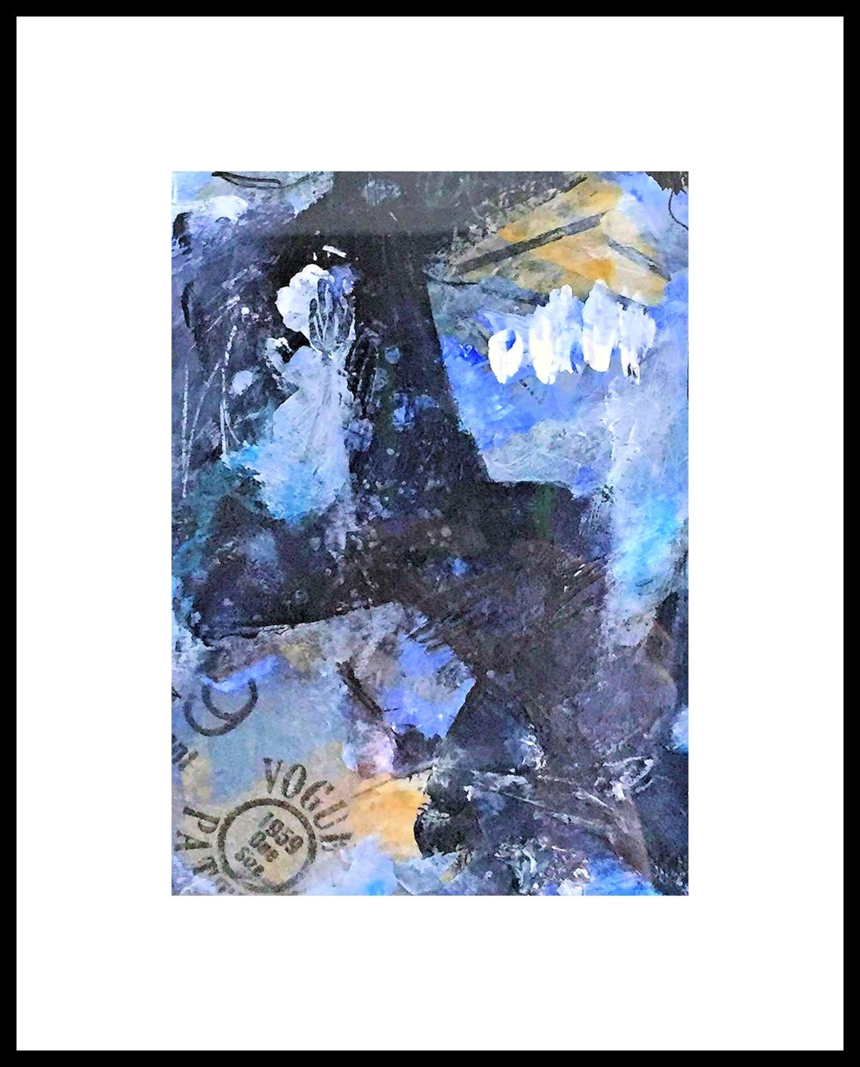 Original Painting Emotional Abstract Mixed