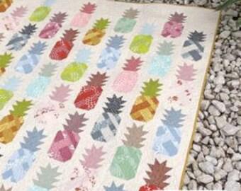 Pineapple Farm Quilt Pattern by Elizabeth Hartman Modern Quilt Pattern Elizabeth Hartman Patterns Modern Quilting Pineapple Quilt