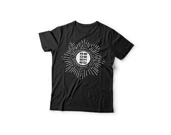 Redeemed Christian Graphic T Shirt Religious Spiritual Typography Bible Inspired Star Graphic Black Unisex Shirt